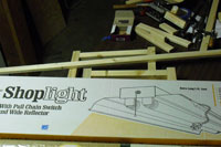 Shop light for the grow light stand