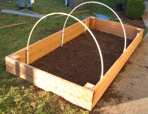bed garden to a how build greenhouse building raised plans free
