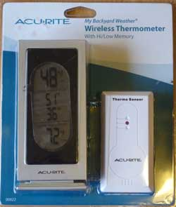 Wireless Temperature Gauge in Package