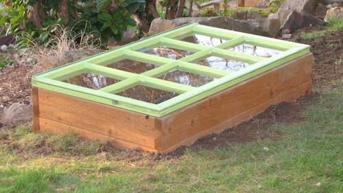 Another cold frames design