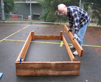 Constructing Raised Bed Gardens